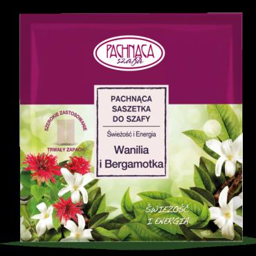 Pachnąca saszetka do szafy – Wanilia i Bergamotka