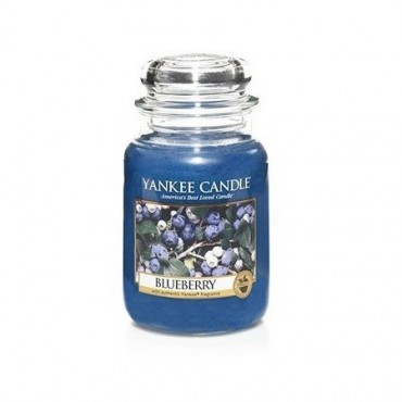 Duża świeca Blueberry Yankee Candle