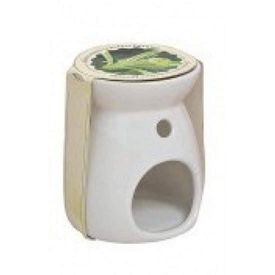 Kominek do wosków Ceramiczny biały