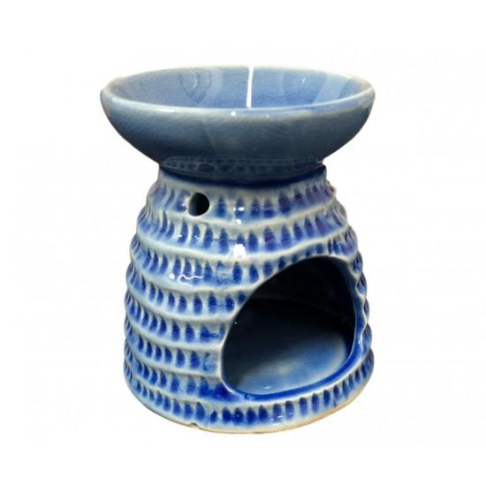 Kominek do wosków Mozaika (niebieski)