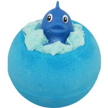 Musująca kula do kąpieli PLUSK! z zabawką Bomb Cosmetics