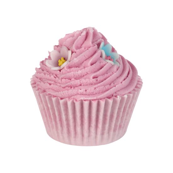 Maślana muffinka na 6 kąpieli PINKY & PERKY Bomb Cosmetics