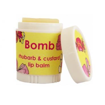 Balsam do ust BUDYŃ Z RABARBAREM Bomb Cosmetics
