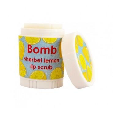 Delikatny scrub do ust CYTRYNOWY SORBET Bomb Cosmetics