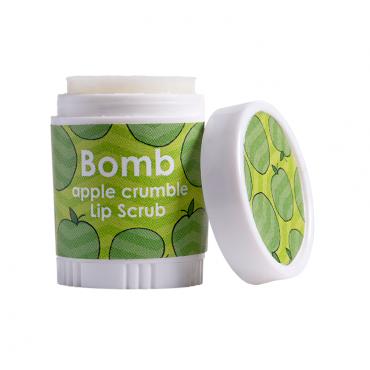 Delikatny scrub do ust SZARLOTKA Bomb Cosmetics