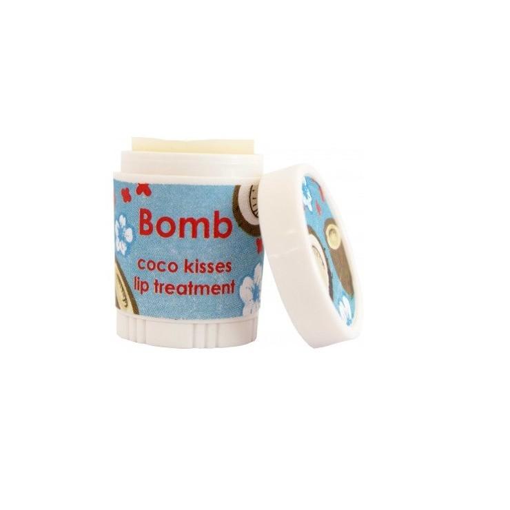 Intensywna kuracja do ust KOKOSOWE POCAŁUNKI – Bomb Cosmetics