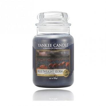 Duża świeca Blue Twilight Storm Yankee Candl