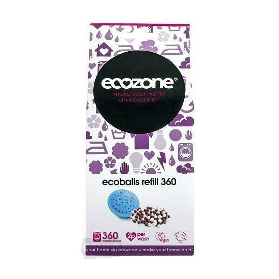 Ecoballs Granulki do Kul Piorących 360 prań