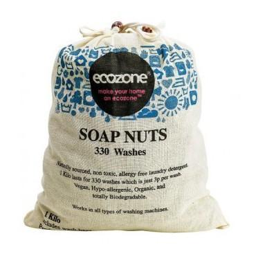 Ecozone Orzechy do prania, 1kg, 330 prań
