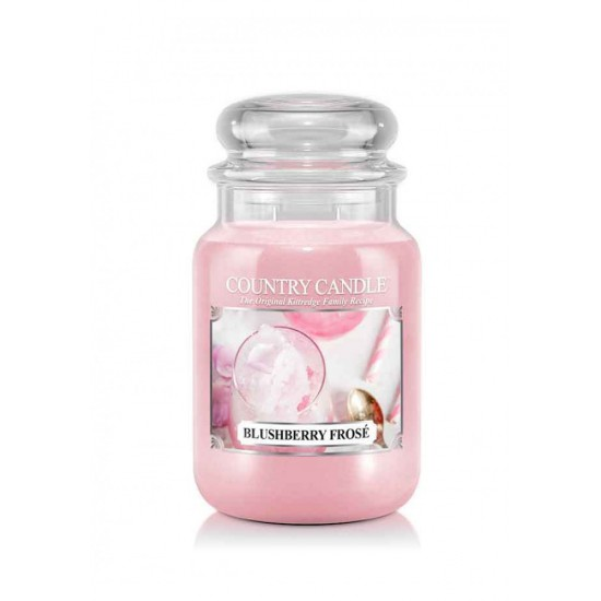 Duża świeca Blueberry Frose Country Candle