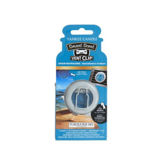 Car vent clip Turquise Sky Yankee Candle