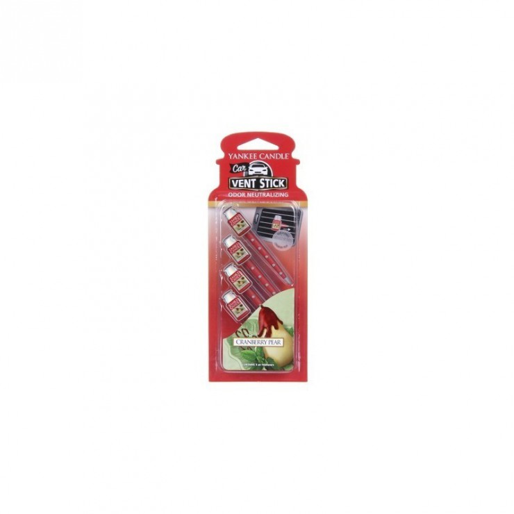 Car Vent Stick Cranberry Pear Yankee Candle