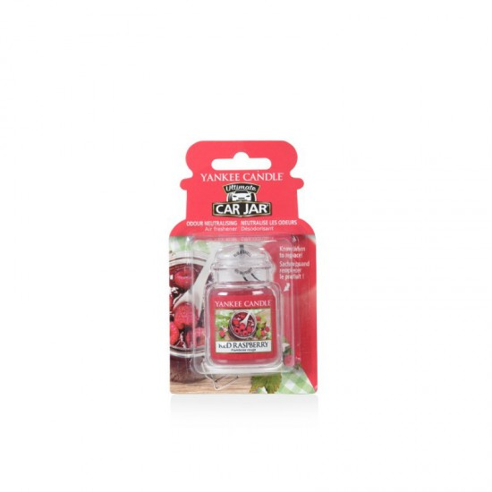 Car jar ultimate Red Raspberry Yankee Candle