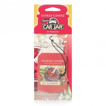 Car jar Red Raspberry Yankee Candle