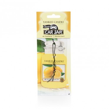 Car jar Sicilian Lemon Yankee Candle