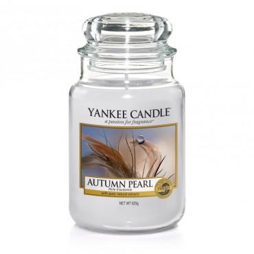 Duża świeca Autumn Pearl Yankee Candle