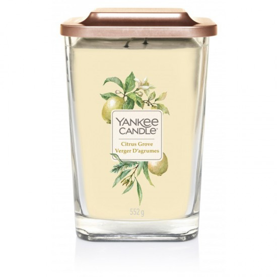 Elevation duża świeca Citrus Grove Yankee Candle