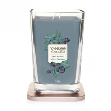 Elevation duża świeca Dark Berries Yankee Candle