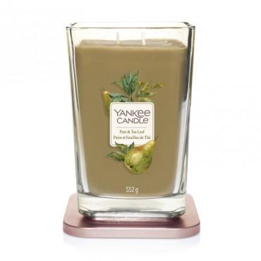 Elevation duża świeca Pear & Tea Leaf Yankee Candle