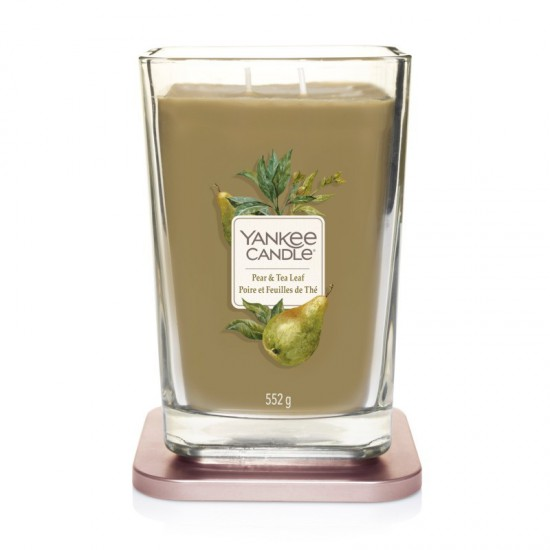 Elevation duża świeca Pear & Tea Leaf Yankee Candle