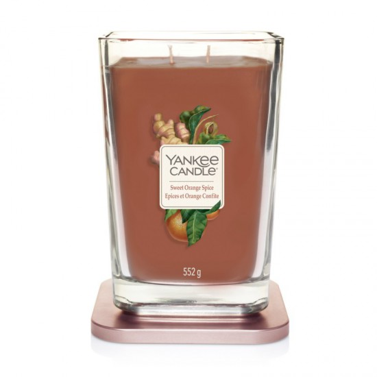 Elevation duża świeca Sweet Orange Spice Yankee Candle