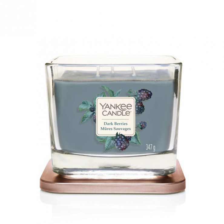 Elevation średnia świeca Dark Berries Yankee Candle