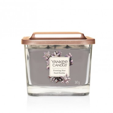 Elevation średnia świeca Evening Star Yankee Candle