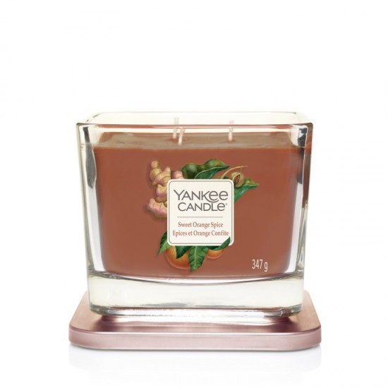 Elevation średnia świeca Sweet Orange Spice Yankee Candle