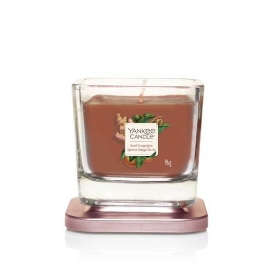 Elevation mała świeca Sweet Orange Spice Yankee Candle