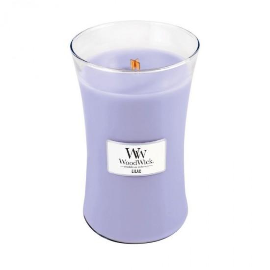 Duża Świeca Lilac WoodWick