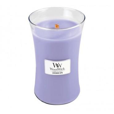 Duża Świeca Lavender Spa WoodWick