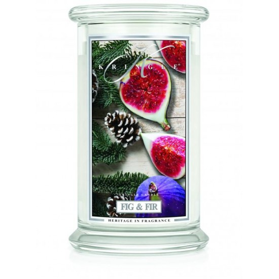 Duża świeca Fig & Fir Kringle Candle