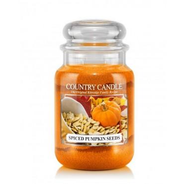 Duża świeca Spiced Pumpkin Seeds Country Candle