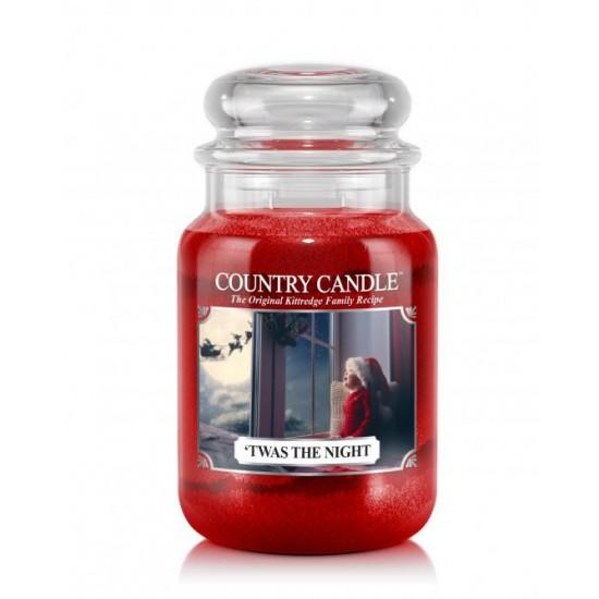 Duża świeca Twas The Night Country Candle