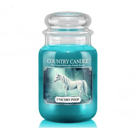 Duża świeca Unicorn Poop Country Candle