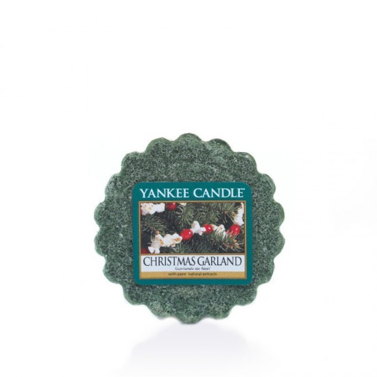 Wosk Christmas Garland Yankee Candle