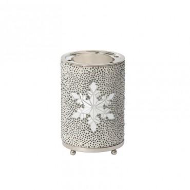 Twinkling Snowflake kominek do wosków Yankee Candle