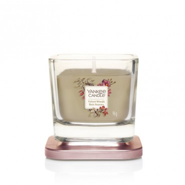 Elevation mała świeca Velvet Wood Yankee Candle