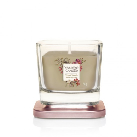 Elevation mała świeca Velvet Woods Yankee Candle