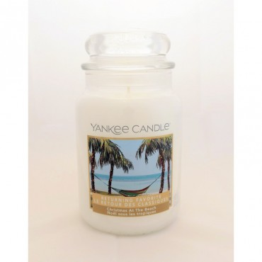 Duża świeca Christmas at The Beach Yankee Candle