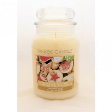 Duża świeca Christmas Wish Yankee Candle