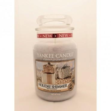 Duża świeca Holiday Shimmer Yankee Candle
