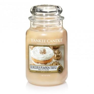 Duża świeca Luscious Pumpkin Trifle Yankee Candle