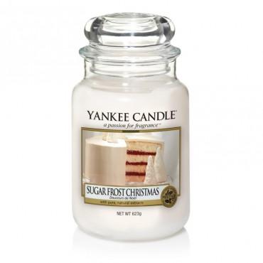 Duża świeca Sugar Frost Christmas Yankee Candle