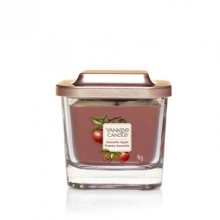 Elevation mała świeca Amaretto Apple Yankee Candle