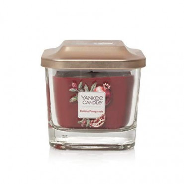 Elevation mała świeca Holiday Pomegranate Yankee Candle