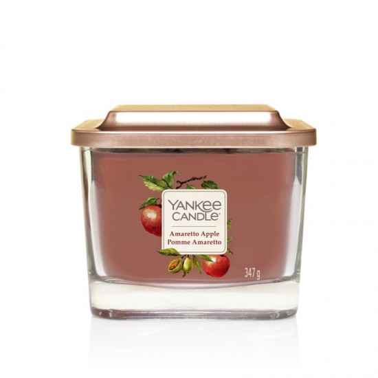 Elevation średnia świeca Amaretto Apple Yankee Candle