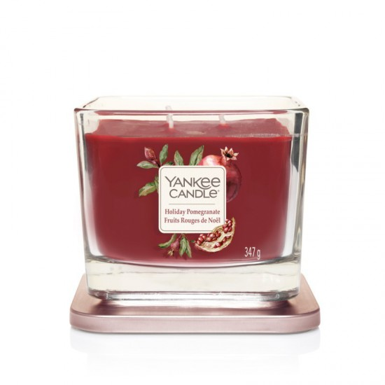 Elevation średnia świeca Holiday Pomegranate Yankee Candle