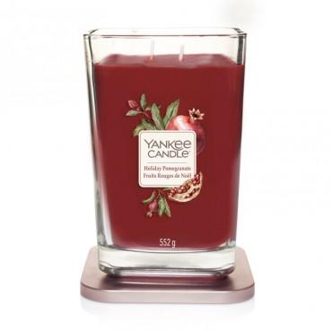 Elevation duża świeca Holiday Pomegranate Yankee Candle