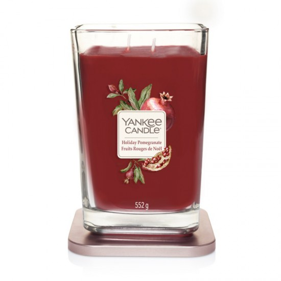 Elevation duża świeca Holiday Pomegranate Yankee Candle